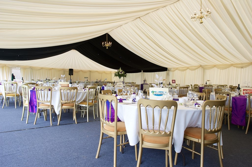 36 x 12m wedding marquee