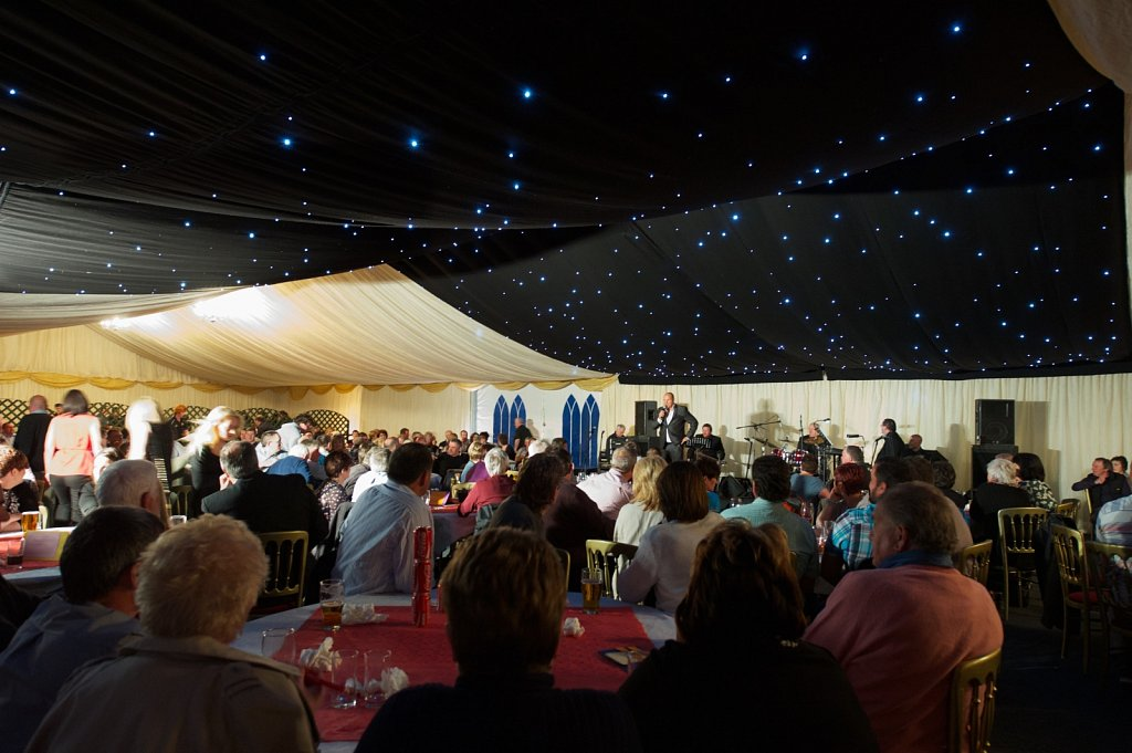 40 x 15 m marquee,fundraising party