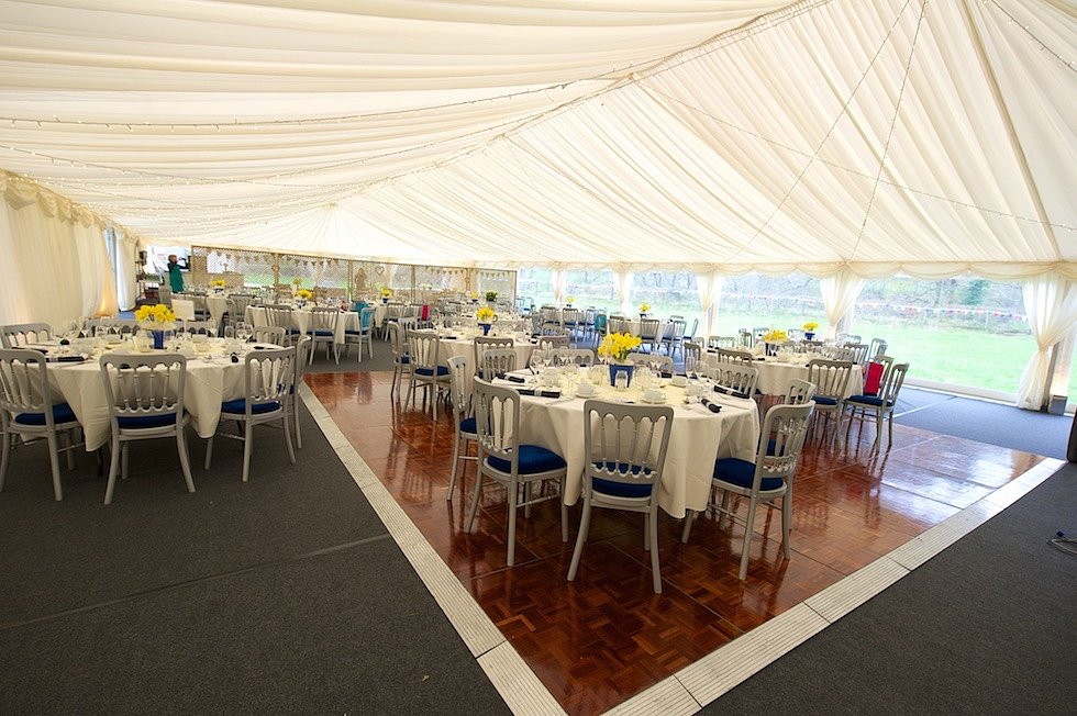 27m x 12m wedding marquee