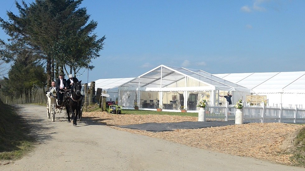 30 x 12m wedding marquee