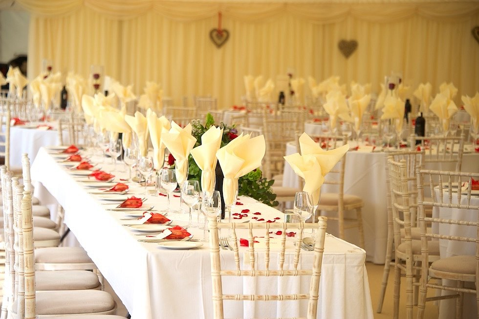 39 x 12m wedding marquee
